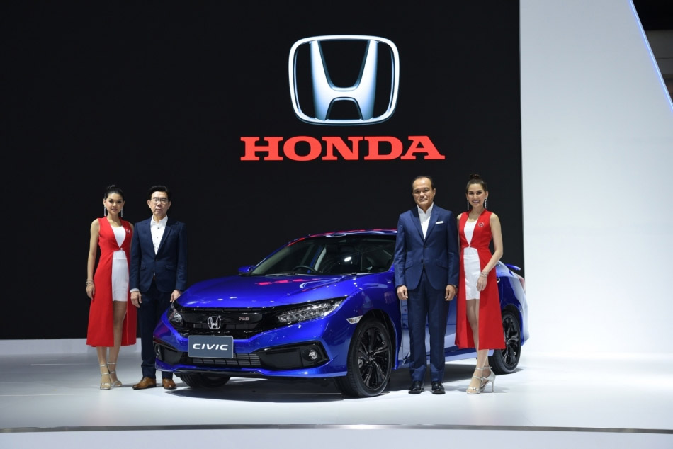 2019 Honda Civic Facelift Launched in Thailand